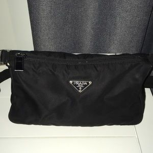 9363c116e658 Women Prada Black Nylon Shoulder Bag on Poshmark